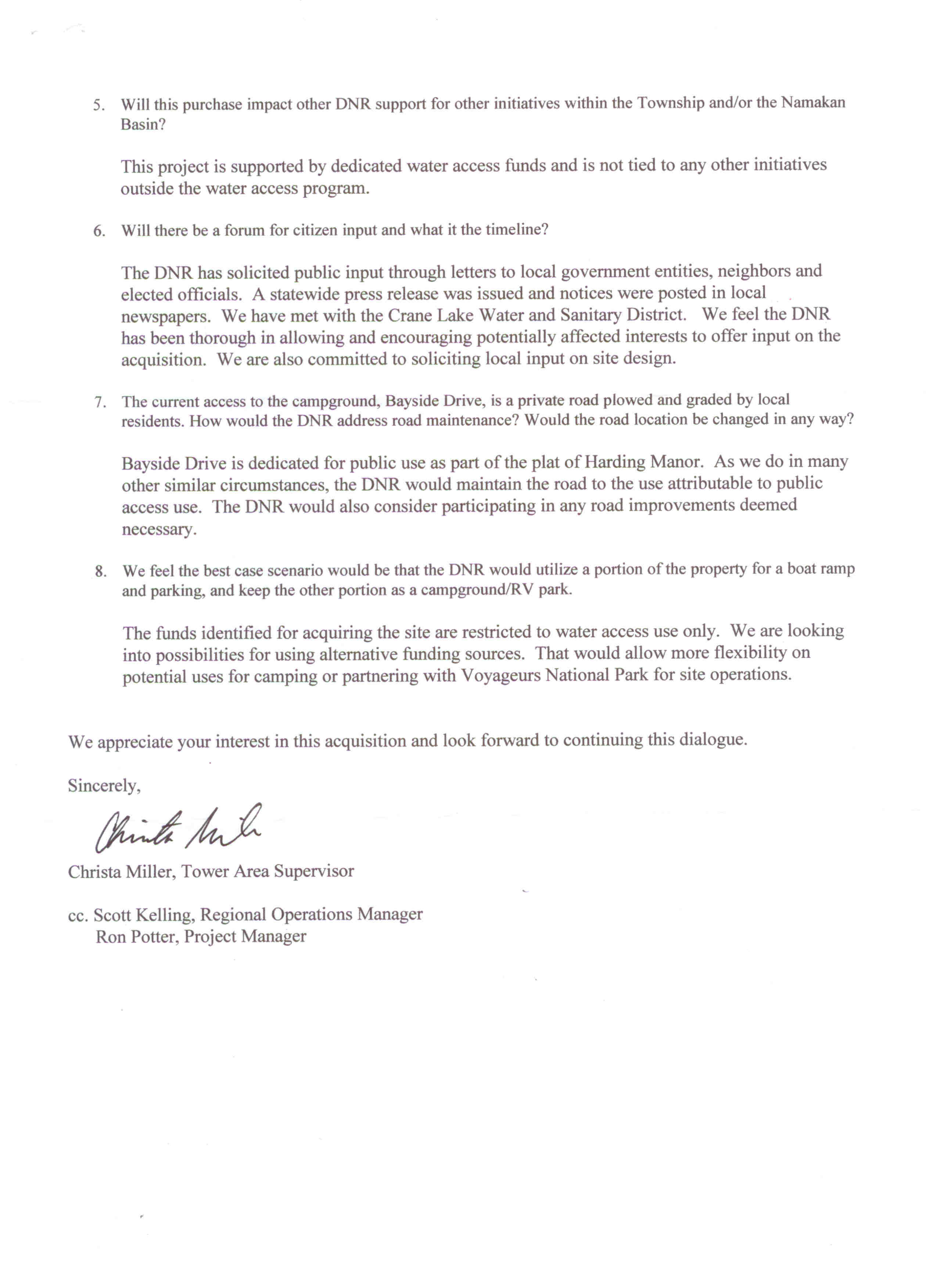 land purchase application letter